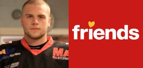 Vår partner Friends intervjuar hockeyspelaren Patrik Näslund!