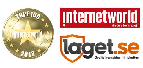 laget.se nominerad som en av Sveriges bästa sajter!