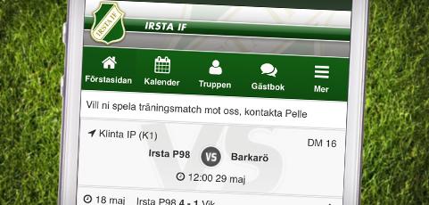 Förbättrad visning av nästa match i mobilen!