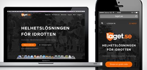 Nu är startsidan omdesignad, extremt fräsch och självklart mobilanpassad!