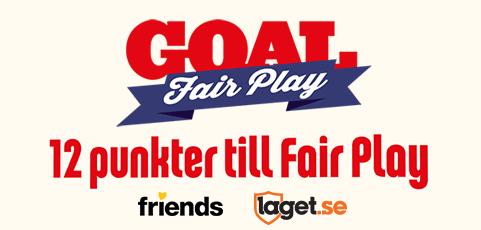 GOAL Fair Play – Nytt initiativ mot kränkningar inom barnfotboll