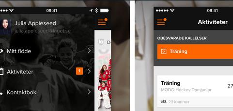 Nu flyttar alla dina aktiviteter in i laget.se-appen!