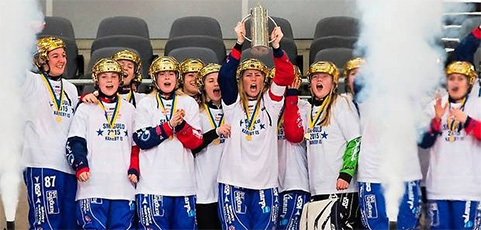 Sveriges bästa bandylag använder laget.se – Grattis till guldet Kareby IS!