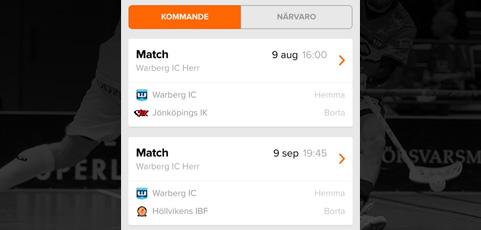 Förbättrad matchöversikt i laget.se-appen!