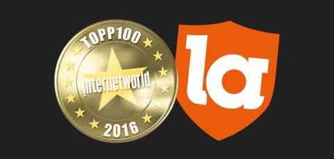 laget.se en av Sveriges Topp100 bästa sajter även 2016!