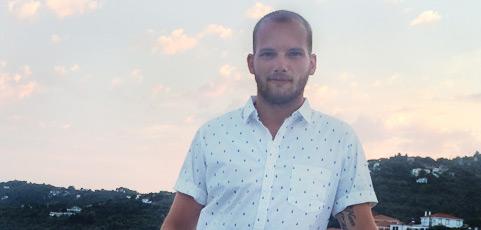 Eric Ström ny i teamet på laget.se – Lär känna honom här!