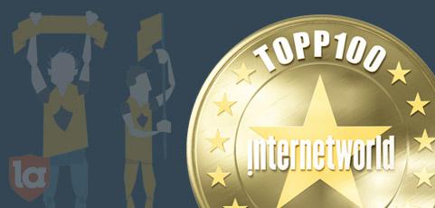 laget.se är en av Sveriges 100 bästa sajter fjärde året i rad!