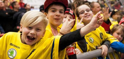 Superrabatt med laget.se för ditt lag till Tre Kronor-Tjeckien i Behrn Arena i Örebro