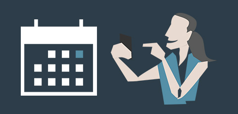 Lagets aktiviteter automatiskt i din privata kalender-app