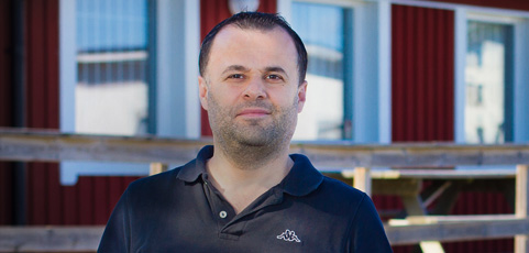 """5 frågor till Nihat """"Hatte"""" Erdis – ny medarbetare på laget.se"""