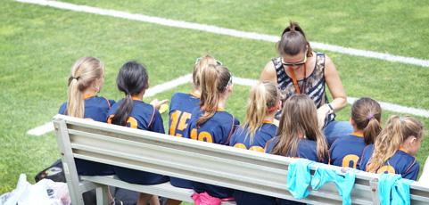 6 fördelar med att träna ditt barns lag