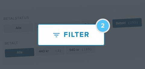 Bättre koll på ekonomin med nya filter för er camp