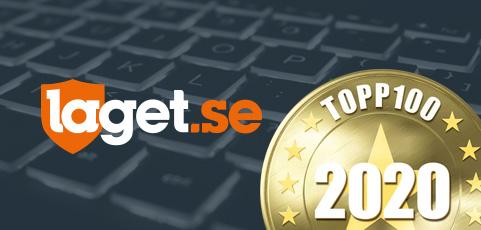 laget.se är en av de 100 bästa sajterna även 2020