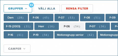 Nyhet: Förbättrad filtrering i medlemsregistret
